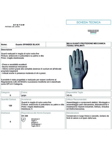 GUANTES MECANICA  - ISO...